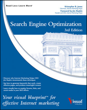 SEO Visual Blueprint Kris Jones 3rd Edition